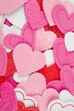 Fond de soins de santé avec plusieurs coeurs valentine Image libre de droits