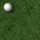 Fond de sortie de golf Photos stock