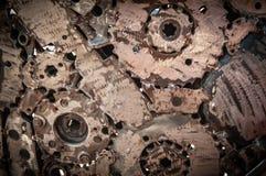 Fond de soudure en métal de couture Photo stock