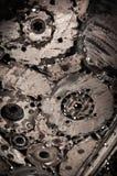 Fond de soudure en métal de couture Image libre de droits