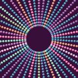 Fond de sphères Image stock