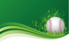 fond de sport de base-ball illustration libre de droits