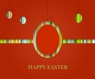 Fond de stip de Pâques Photos stock