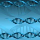 Fond de structure de molécule d'ADN Photo libre de droits