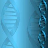 Fond de structure de molécule d'ADN Photos libres de droits