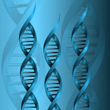 Fond de structure de molécule d'ADN Photos stock