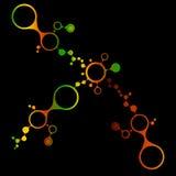 Fond de structure de molécule d'ADN Photographie stock