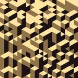 fond de structure des blocs 3d Vecteur Image stock