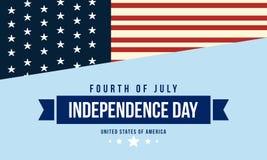 Fond de style de collection de Jour de la Déclaration d'Indépendance Photographie stock libre de droits