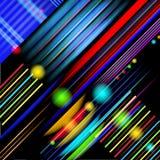Fond de style de la technologie abstrait Images libres de droits