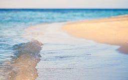Fond de style de vintage Rétro plage tropicale Photos libres de droits