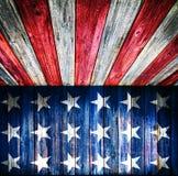 Fond de style des Etats-Unis - pièce en bois vide illustration stock