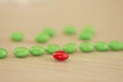 Fond de sucrerie colorée Images libres de droits