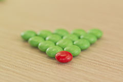 Fond de sucrerie colorée Photo libre de droits