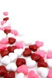 Fond de sucrerie de jour de Valentines Photos stock