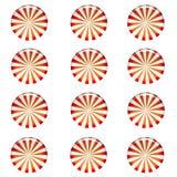 Fond de sucrerie de menthe poivrée illustration de vecteur