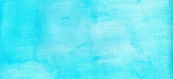 Fond de suffisance de gradient d'aquarelle de bleu marine de marine ou de bannière de Web Taches pour aquarelle Calibre peint par photos stock