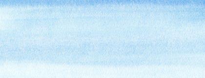 Fond de suffisance de gradient d'aquarelle de bleu marine de marine ou de bannière de Web Taches pour aquarelle Calibre peint par illustration libre de droits