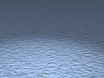 Fond de surface de l'eau bleue Photo libre de droits