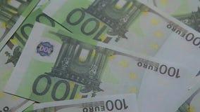 Fond de table de billet de banque d'argent personne banque de vidéos