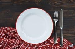 Fond de table de Noël photos stock