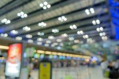 Fond de tache floue d'aéroport Photographie stock libre de droits