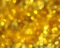 Fond de tache floue d'or - photo courante Photo libre de droits