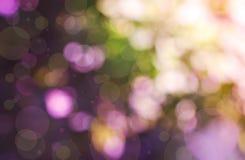 Fond de tache floue dans des sons roses et pourprés Photos stock