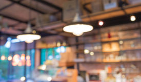 Fond de tache floue de café avec le bokeh photos stock