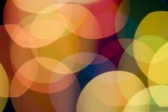 Fond de tache floue de lumières de couleur Image libre de droits