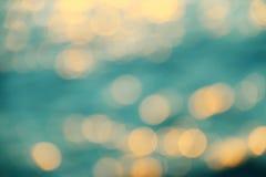 Fond de tache floue de mer Images libres de droits