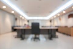 Fond de tache floue de salle de conférence Photos stock