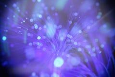 Fond de tache floue (les particules volent dans l'espace) Photographie stock