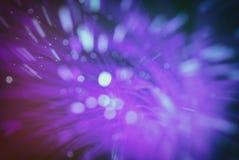 Fond de tache floue (les particules volent dans l'espace) Images libres de droits