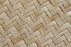Fond de tapis de Reed Woven Images stock