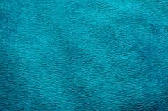 Fond de tapis de tissu de couleur de turquoise Photographie stock