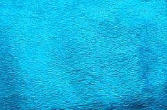 Fond de tapis de tissu de couleur de turquoise Photos libres de droits
