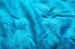 Fond de tapis de tissu de couleur de turquoise Images libres de droits