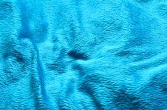 Fond de tapis de tissu de couleur de turquoise Images stock