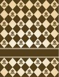 Fond de tapisserie de cru. Image libre de droits