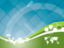 Fond de technologie   illustration libre de droits