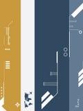 Fond de technologie d'affaires illustration stock