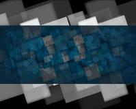 Fond de technologie, idée de solution d'affaires globales Photo libre de droits