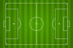 Fond de terrain de football Photographie stock libre de droits