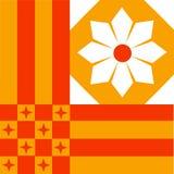 Fond de Tessellation Photographie stock libre de droits