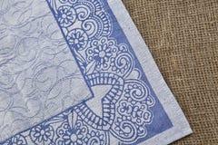 Fond de textile sur le tissu rugueux Photographie stock