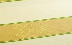 Fond de textile - tissu de table Image libre de droits