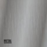 Fond de texture balayé par acier Photo libre de droits