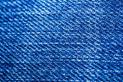 Fond de texture de blues-jean Photos stock