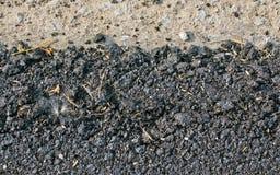 Fond de texture d'asphalte Photo libre de droits